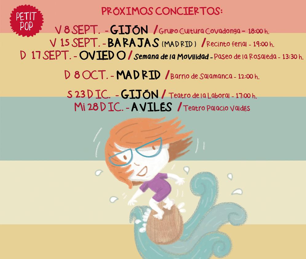 Petit Pop fechas conciertos